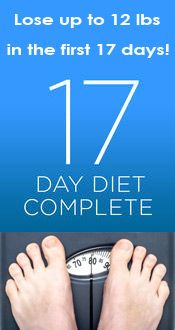17 Day Diet Food List - lose weight the healthy way!