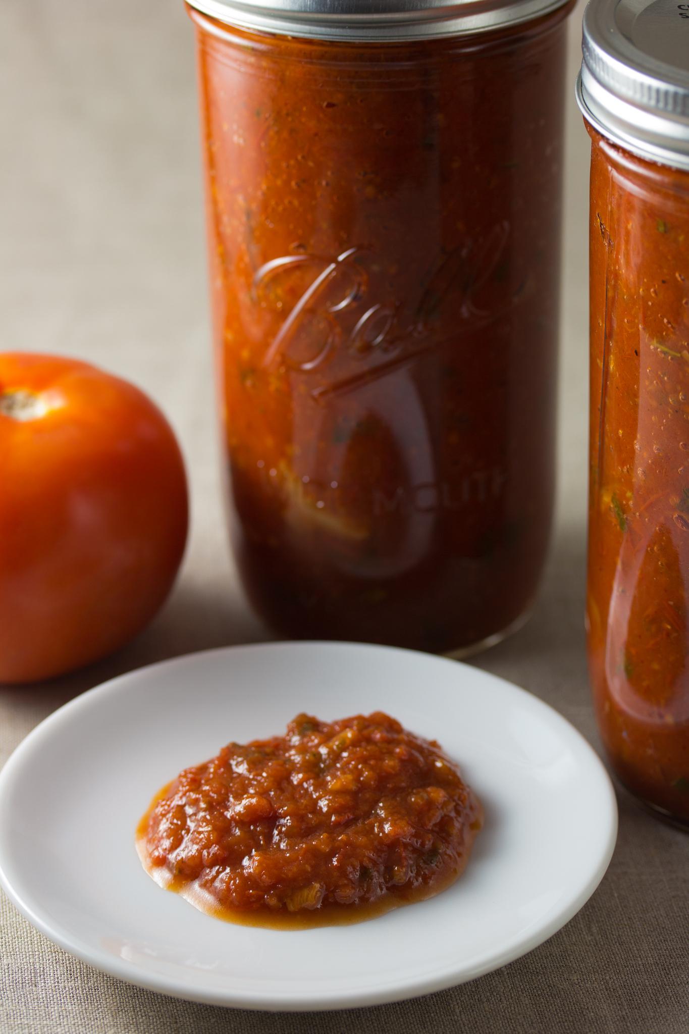 Homemade Tomate Marinara Sauce - #HealthyHappySmart #Recipe
