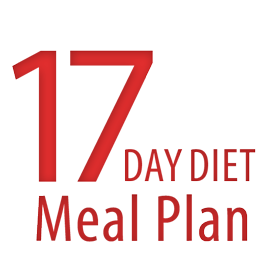 17 day diet Meal Plan - #HealthyHappySmart