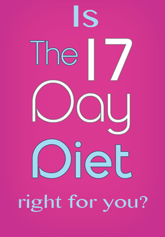 Is the 17 Day Diet right for you? 17 day diet guide ::: #17DayDiet #WeightLoss #LowCarb