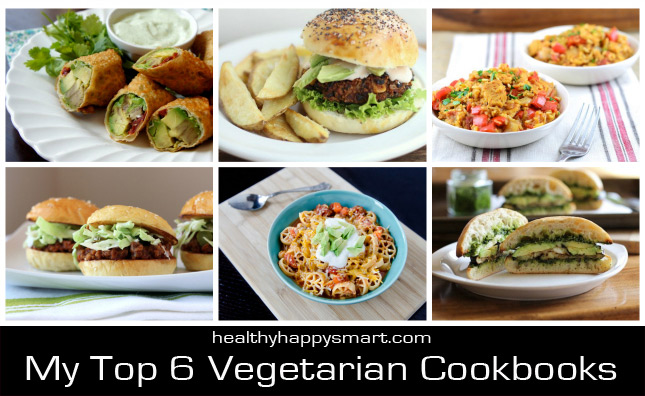 My Top 6 Vegetarian Cookbooks