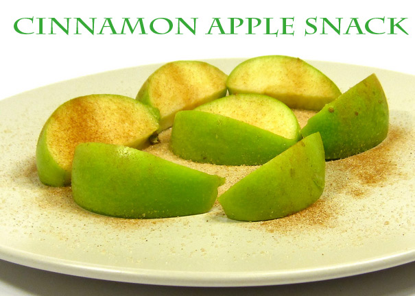 cinnamon apple snack - The best list of healthy snacks + more