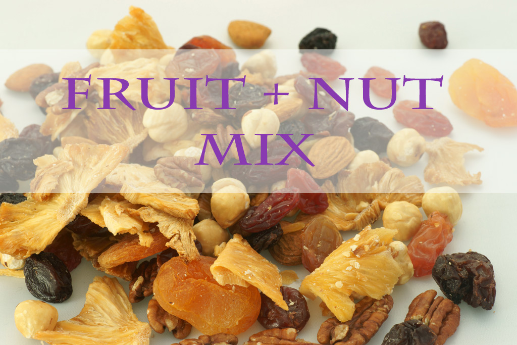 fruit + nut mix - The best list of healthy snacks + more