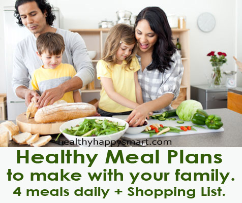 Healthy Meal Planning - do it weekly to help keep you on track!