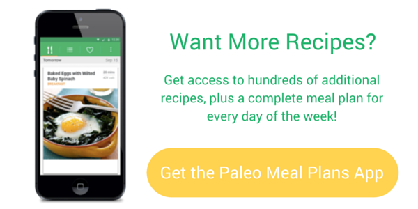 Paleo Meal Plan with hundreds of recipe ideas + meals planned daily!