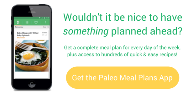 Complete Paleo Meal Plan every week, all the hard work done for you! even a grocery list!