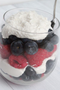 berry parfait - Plus 4 more tasty and quick recipes with Berries!