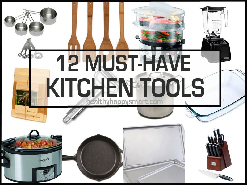 12 Must-Have Kitchen Tools