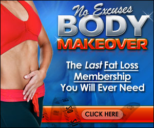 no excuses, body makeover - the last fat loss membership you'll ever need!