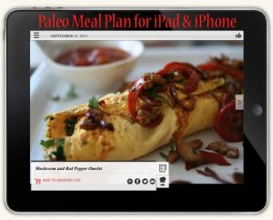 paleo meal plan ipad