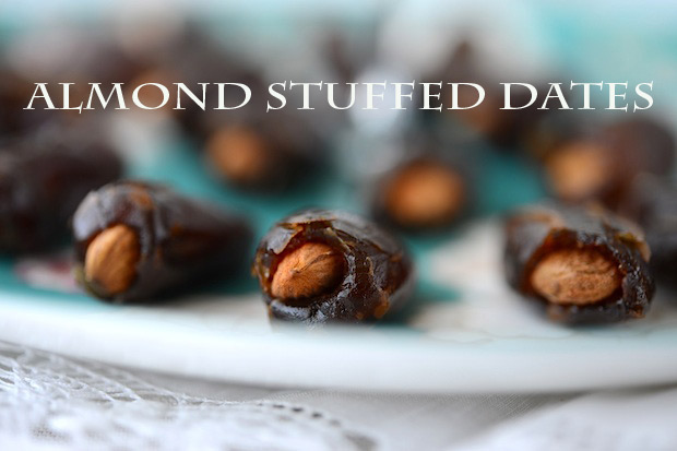 almond stuffed dates - The best list of healthy snacks + more