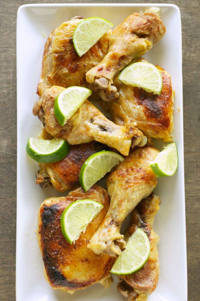 Crockpot Coconut Lime Chicken Recipe - Paleo, slow cooker